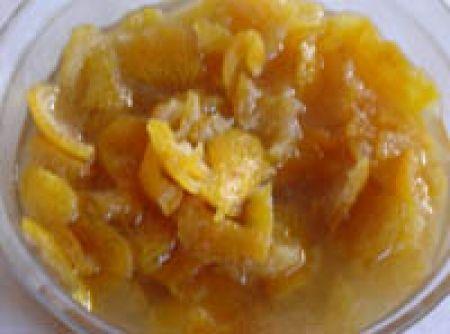 Doce de Casca de Tangerina (mexerica) - Veja mais em: http://www.cybercook.com.br/receita-de-doce-de-casca-de-tangerina-mexerica.html?codigo=75179
