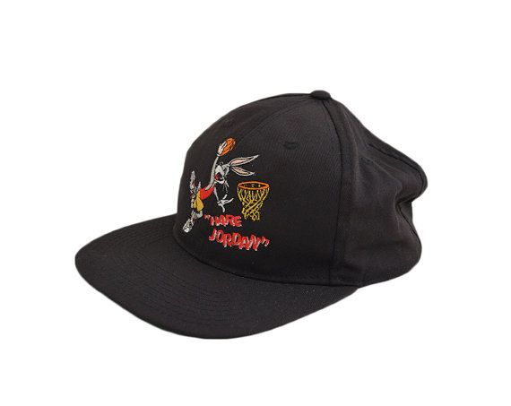 02328bd6b10 ... official store great true vintage 1993 hare jordan snapback hat. the hat  is in great ...