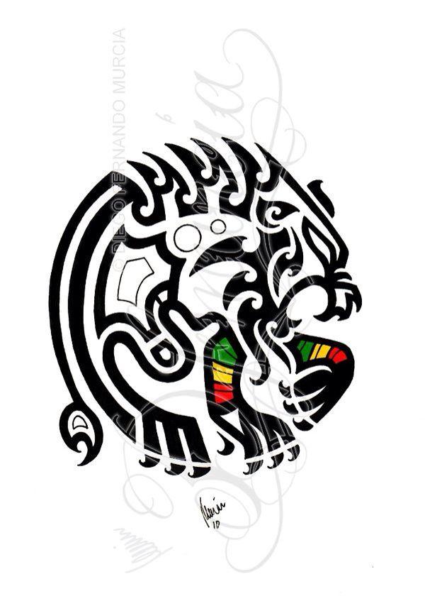 Tribal Rasta Beast Tattoo Ideas Lion Tattoo Tattoos Tribal