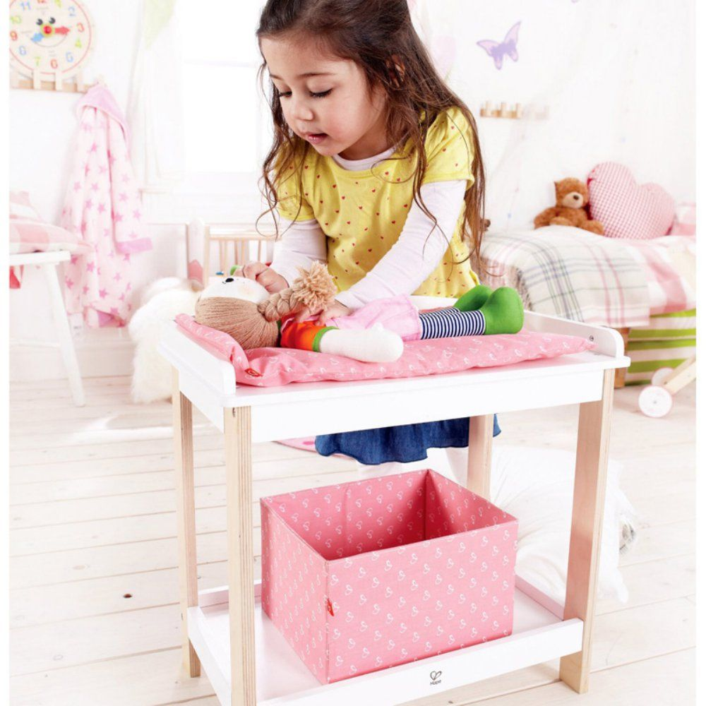 Hape Toys Doll Changing Table   Baby Doll Furniture At Hayneedle