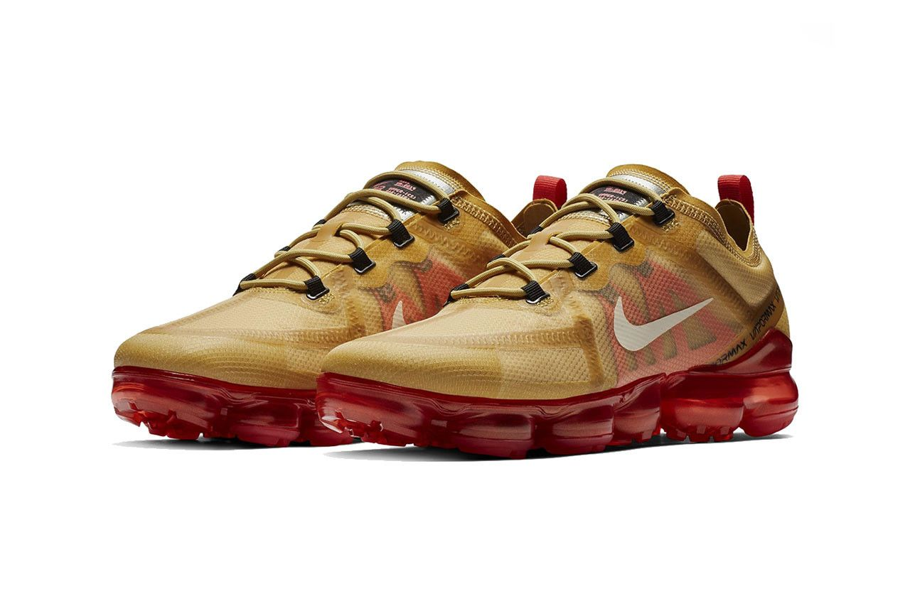 get new look good shoes sale best website Nike Air VaporMax 2019 Receives Iron Man-Inspired Makeover ...