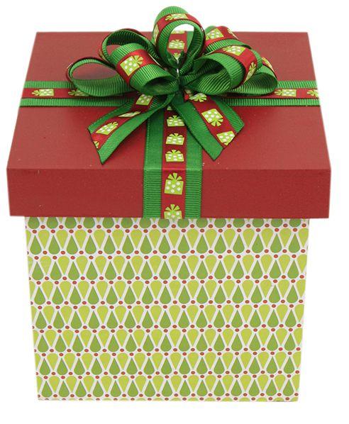 7ef4a91fb5088 Caja de madera   Regalo   Navidad 2014   Adorno   Decoración ...