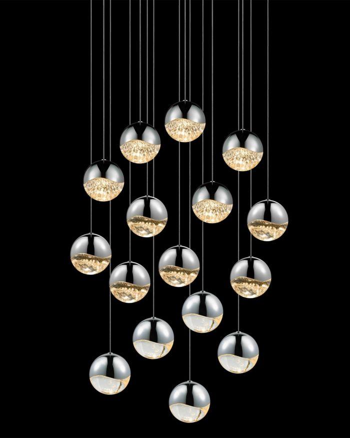 1001 ideen zum thema kronleuchter modern oder futuristisch kronleuchter modern. Black Bedroom Furniture Sets. Home Design Ideas