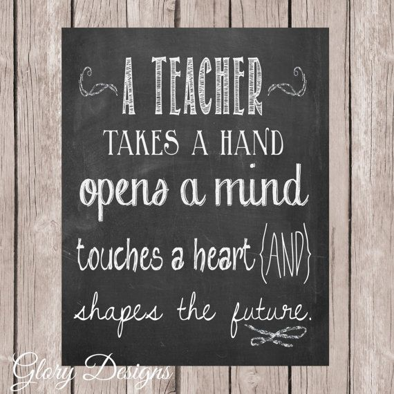 image regarding Printable Teacher Quotes identified as Trainer Appreciation reward, Trainer quotation, Trainer printable