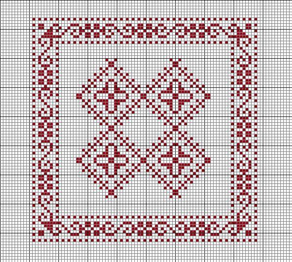 Les carrés de Francine 2   Modèles de point de croix, Modèles de point de croix gratuits et ...