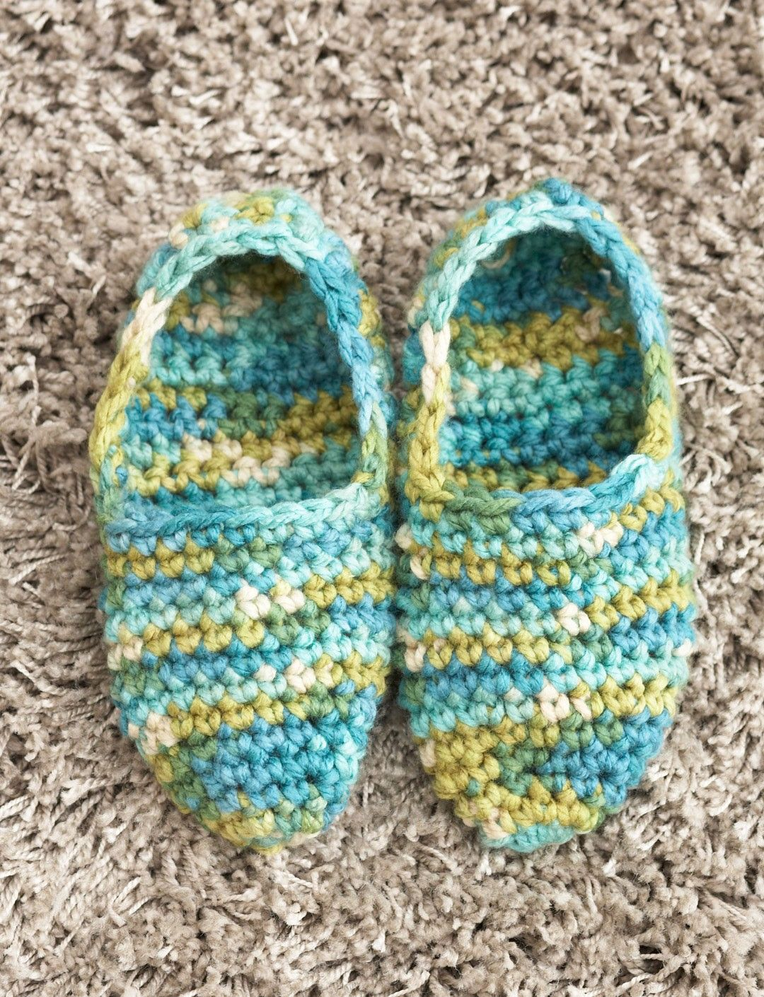 Yarnspirations bernat quickie slippers crochet free yarnspirations bernat quickie slippers crochet free pattern easy bankloansurffo Choice Image