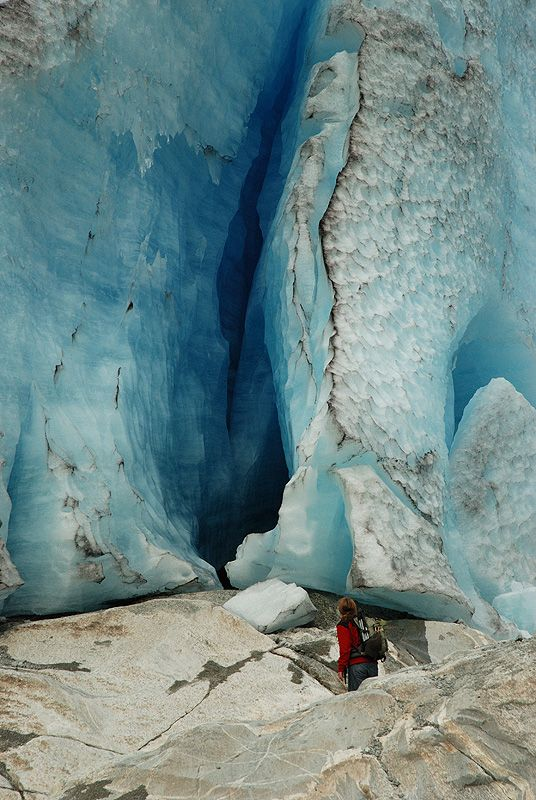 Nigardsbreen is a glacier arm of the large Jostedalsbreen glacier. Nigardsbreen lies about 30 kilometres (19 mi) north of the village of Gaupne in the Jostedalen Valley, Luster, Sogn og Fjordane County, Norway.