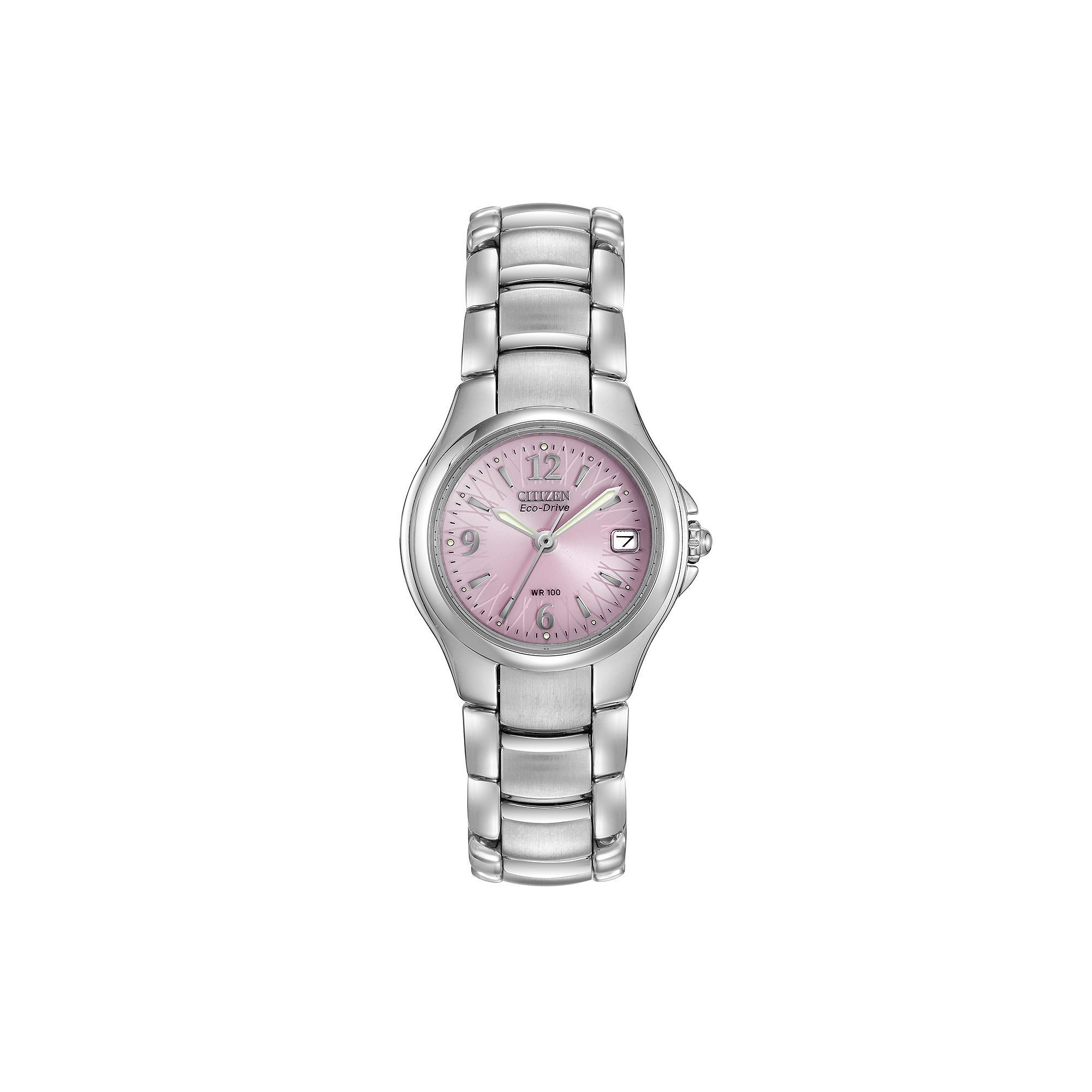 857cf84402fa9e Citizen Eco-Drive Women's Silhouette Sport Stainless Steel Watch -  EW1170-51X, Size: Small, Grey