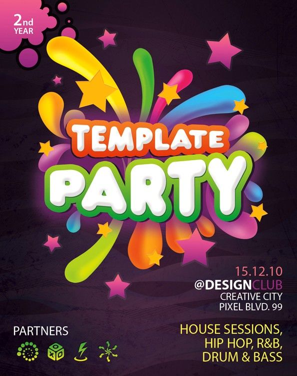 60+ Free PSD Poster and Flyer Templates Flyer template and Template - free templates flyer