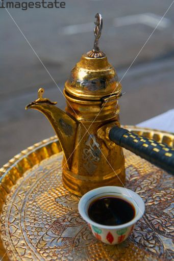 The Traditional Way Of Serving Lebanese Coffee