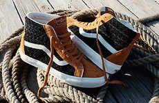 Handwoven Skate Sneakers | Sneakers, Vans shoes, Shoes