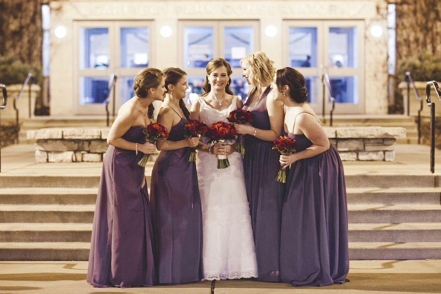 Elegant Winter Wedding Elegant Winter Wedding Bridesmaid