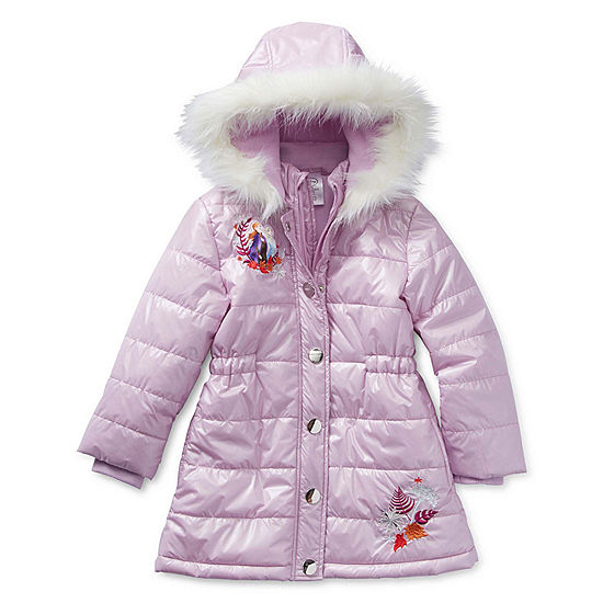 famuka Baby Winter Warm Down Snowsuits Solid Color Hooded Puffer Outerwear