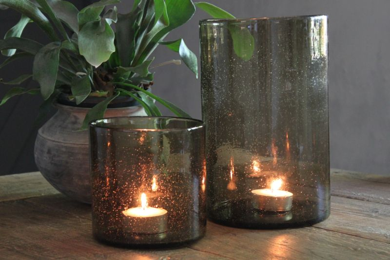 windlicht glas bubbels l accessoires en decoraties huis haard pinterest decoration and. Black Bedroom Furniture Sets. Home Design Ideas