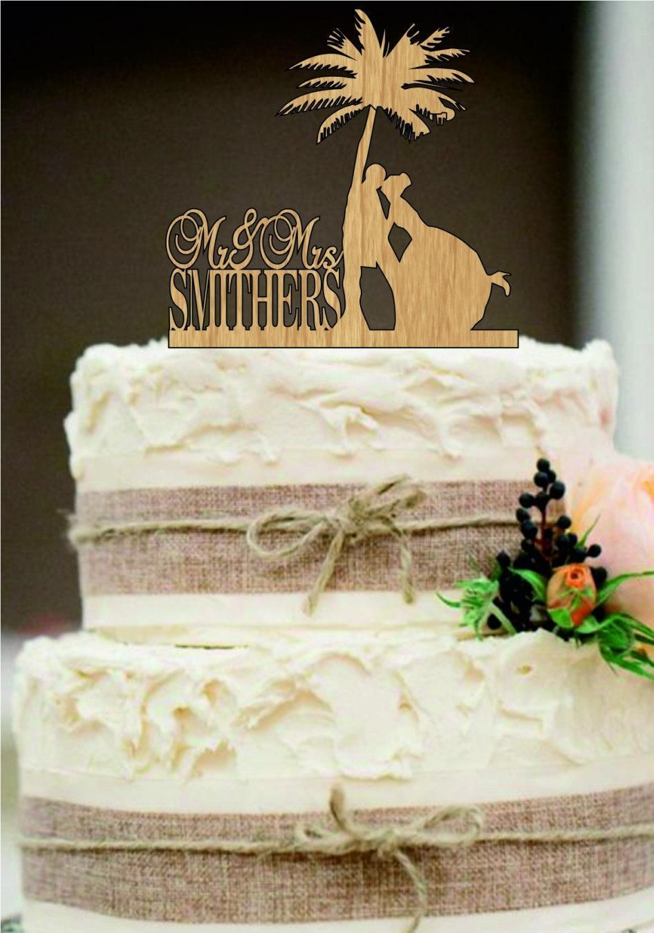 Pin By Roderick Mcdonell On Wedding Cake Toppers Beach Wedding