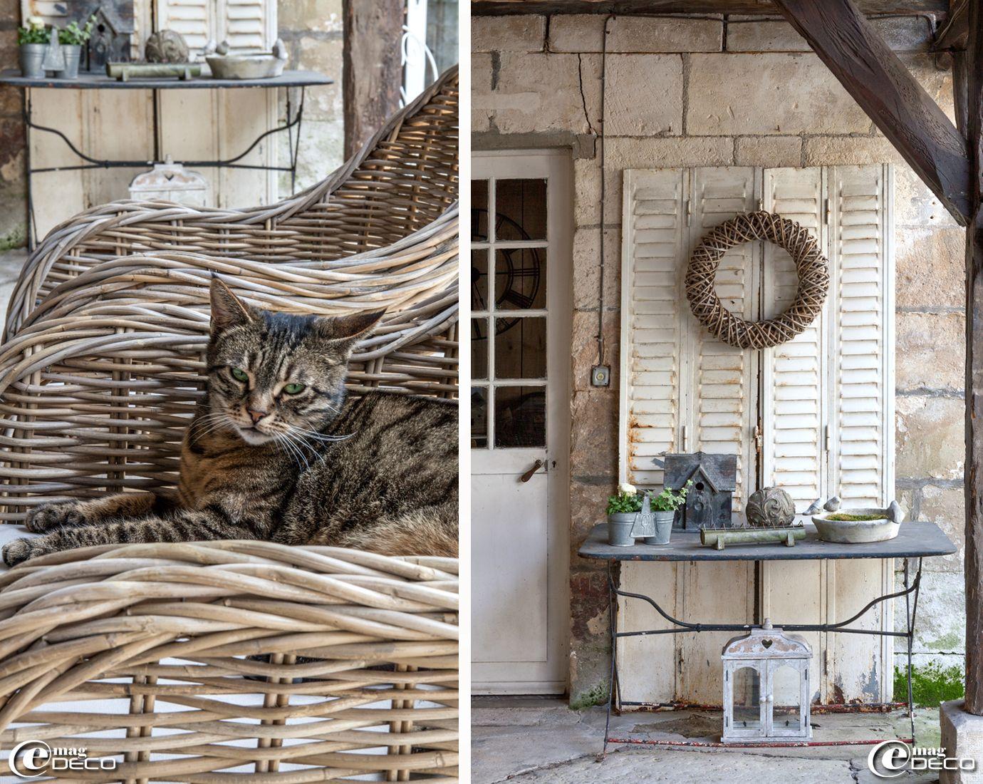 Une maison de famille en picardie e magdeco magazine de décoration deco pinterest french interior shabby and french country style