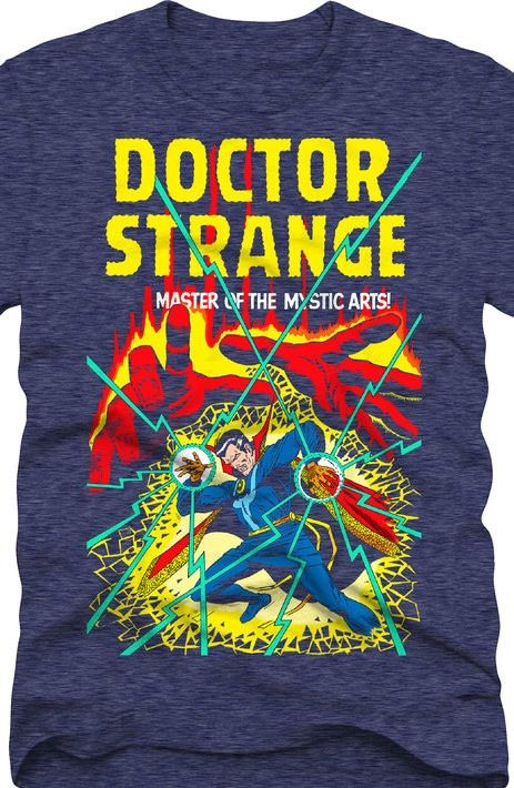 c6aac0c68 Doctor Strange T-Shirt | New Mens T-Shirts From 80sTees.com | Marvel ...