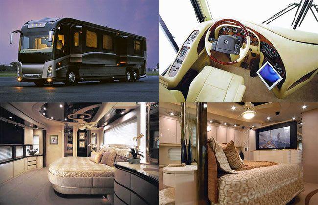 Newell rv million dollar truck kitguru motorhome for Million dollar motor homes