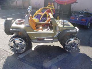 Modified Power Wheels Super Power Jeep Hurricane Power Wheels