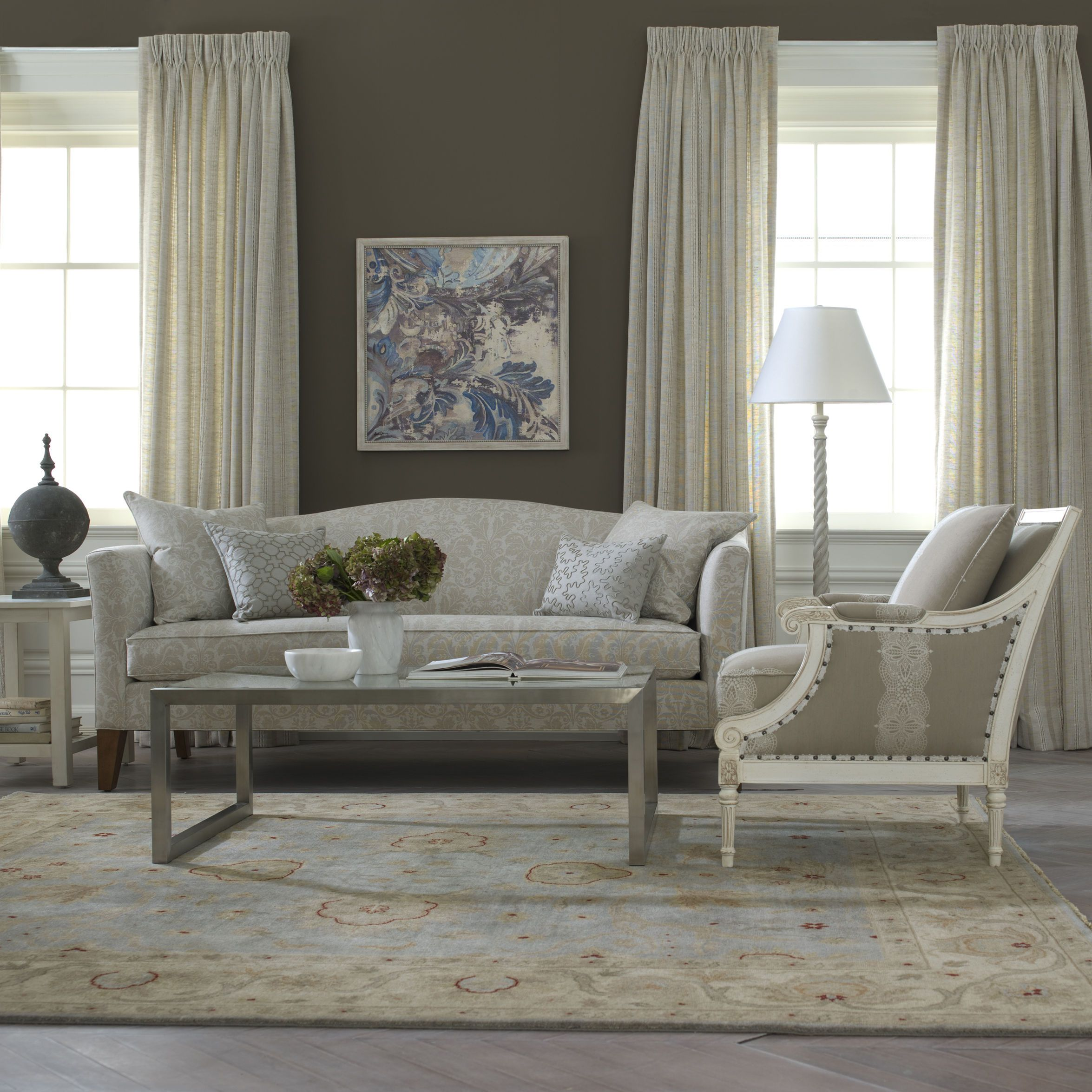 The Fairfax Chair Is Our Take On A Neoclassical Standard Livingroom Inspir