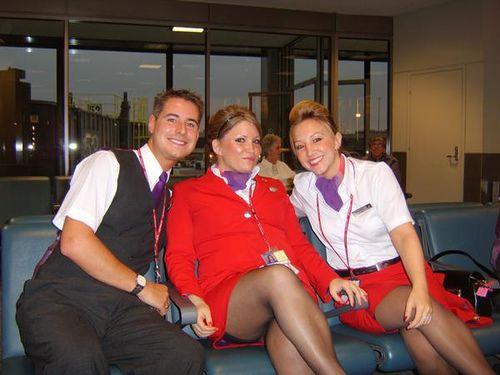 Pin by Patrick John on Flight Attendants In Pantyhose ...
