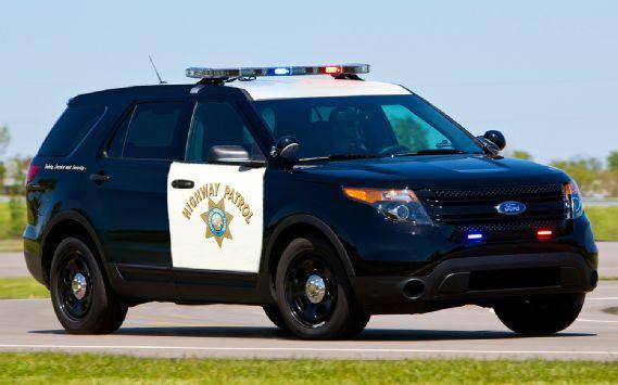 Ford Police Interceptor Utility Is California Highway Patrol S Next Cruiser Motor Trend Police Cars Ford Police California Highway Patrol