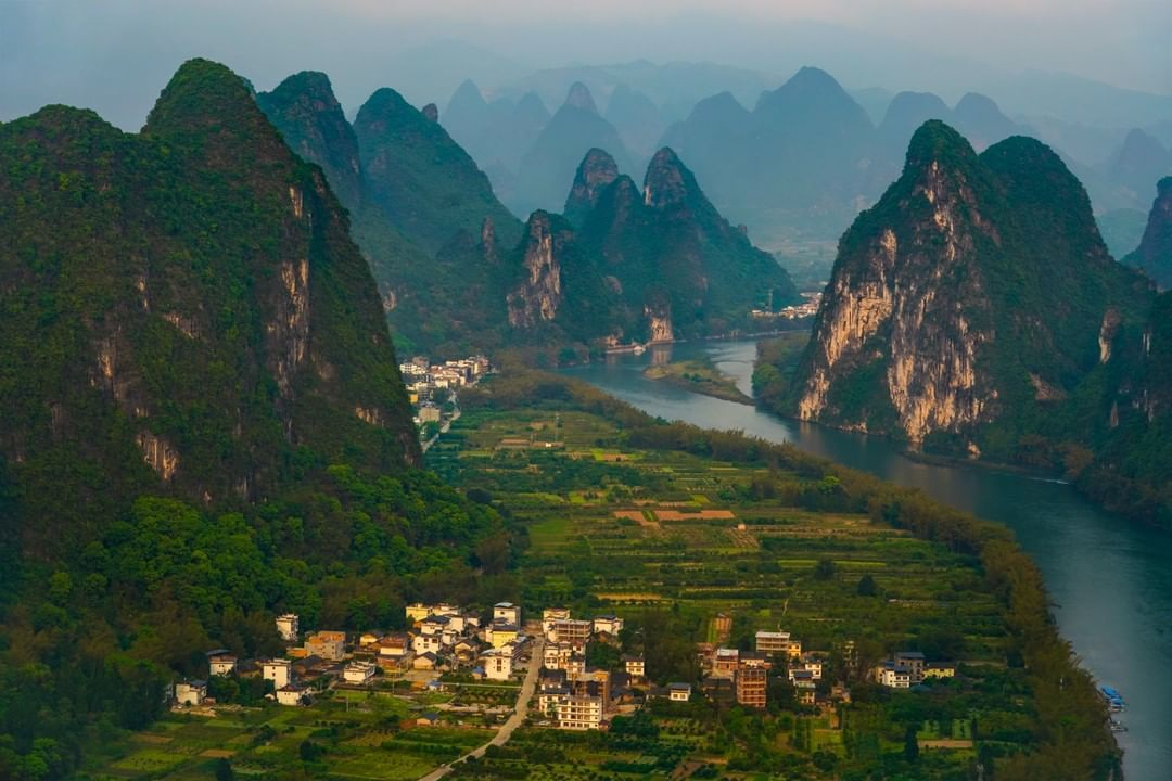 National Geographic On Instagram Photo By Michael Yamashita Yamashitaphoto Drama In Guilin Of All The Best Known Scenic Beautiful Places To Visit Guilin