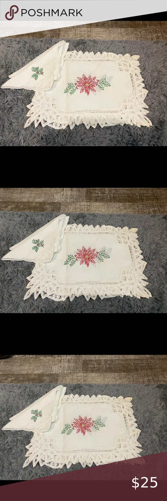Christmas Placemats Holiday Paper Placemats Elegant Damask Paper Placemats Holiday Table Decor Holiday Table Decorations Holiday Paper Christmas Placemats