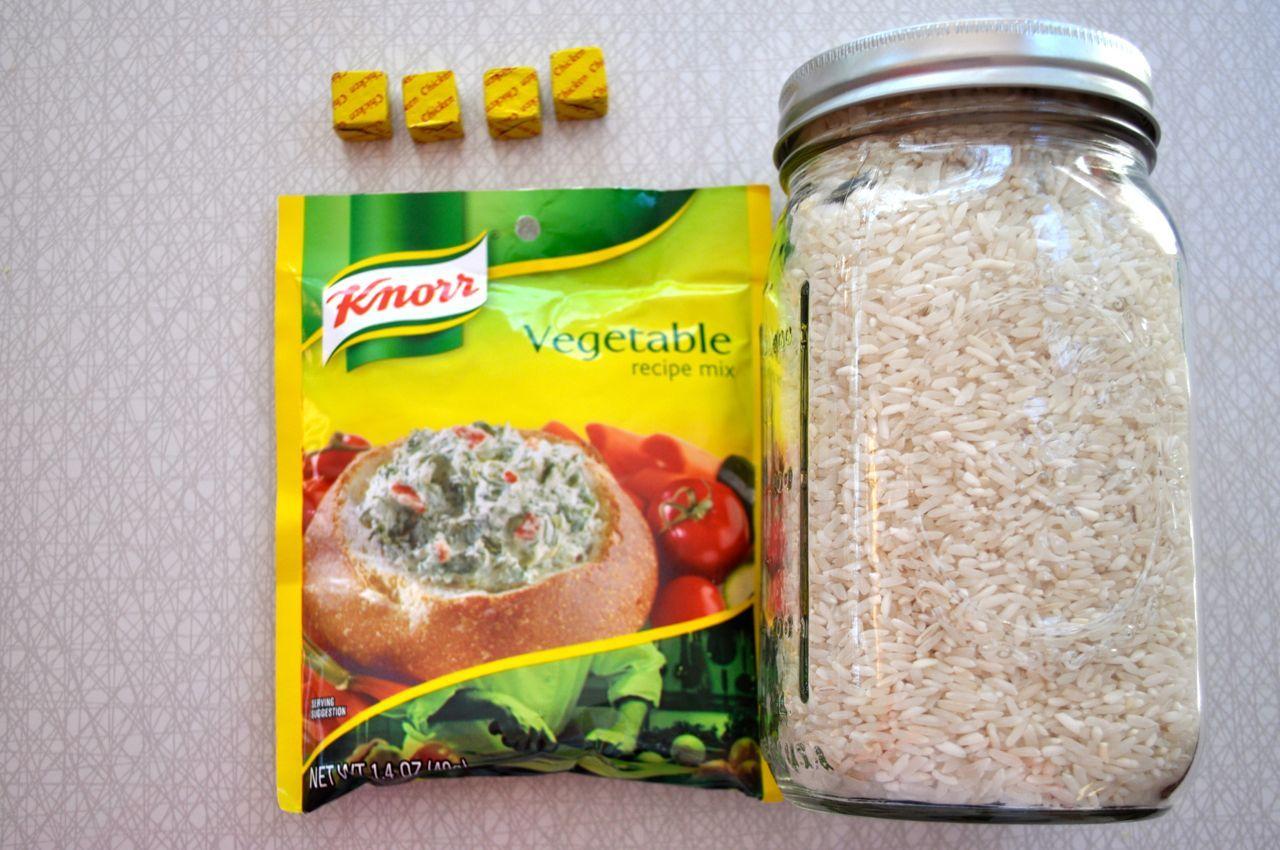 Flavorful rice pilaf ingredients 1 package vegetable soup