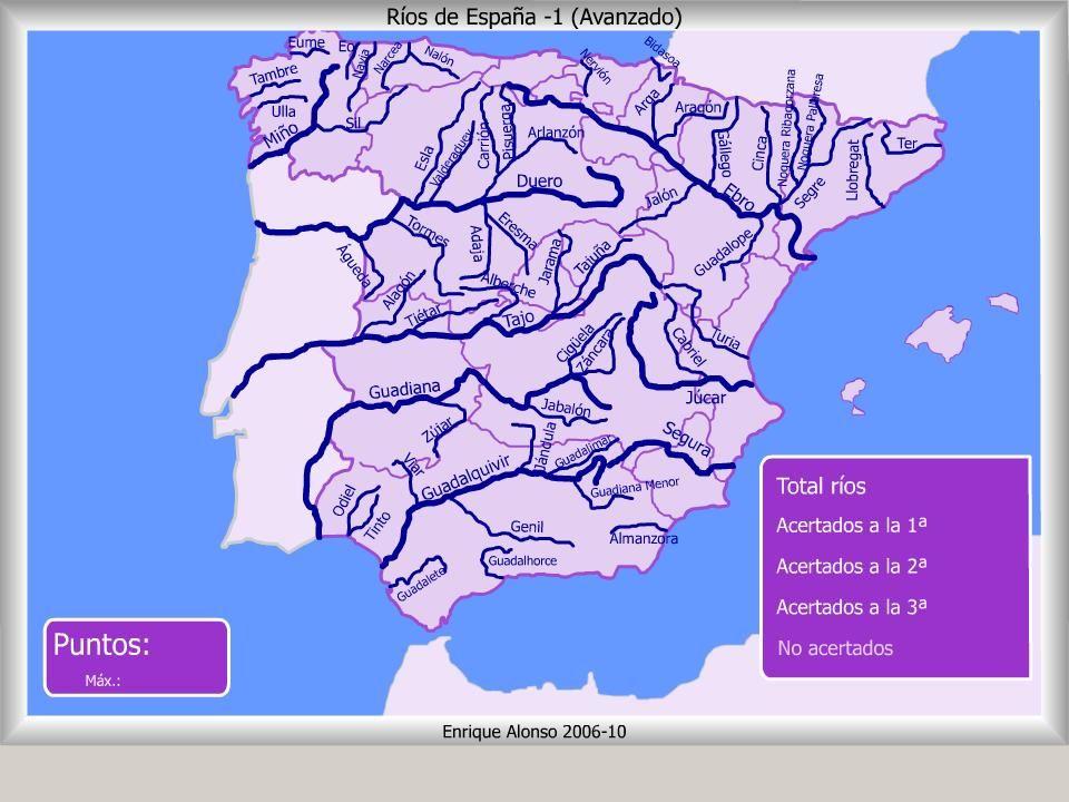 Cabos De España Mapa Interactivo.Mapa Interactivo De Espana Rios De Espana Donde Esta
