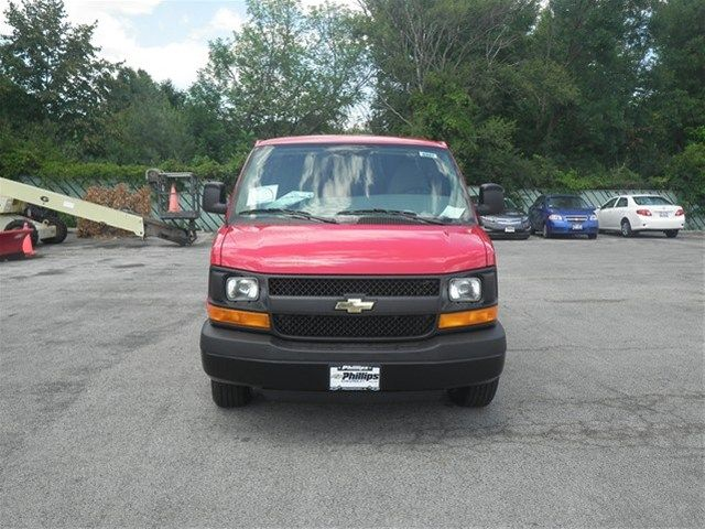 2014 Chevrolet Express 1500 Victory Red Radio Am Fm Stereo W