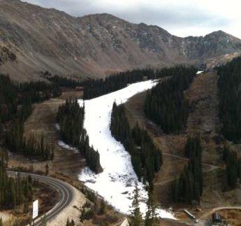 Loveland Pass Snowless Oct 2012