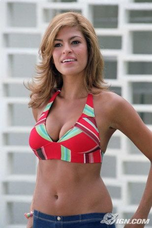 fur Eva bikini mendes