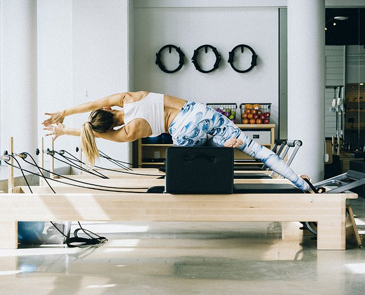 We're learning how to use a Pilates reformer for our best bodies ever
