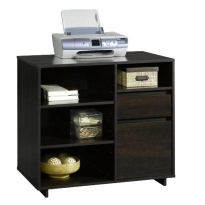Room Essentials Office Storage Unit Espresso A Piece
