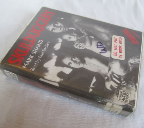 Skullduggery by Mark Shand 4 Cassette Unabridged Audio Book Tapes New Guinea