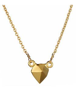 Meredith Hahn Small Shane Pointed Stud Necklace
