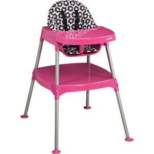 Love Love Love This High Chair That Converts Into A Table And Chair 40 At Walmart Baby High Chair Convertible High Chair Portable High Chairs