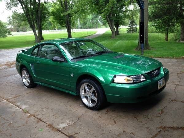Ford Mustang 2 Door Coupe 35th Anniversary Electric Green Met