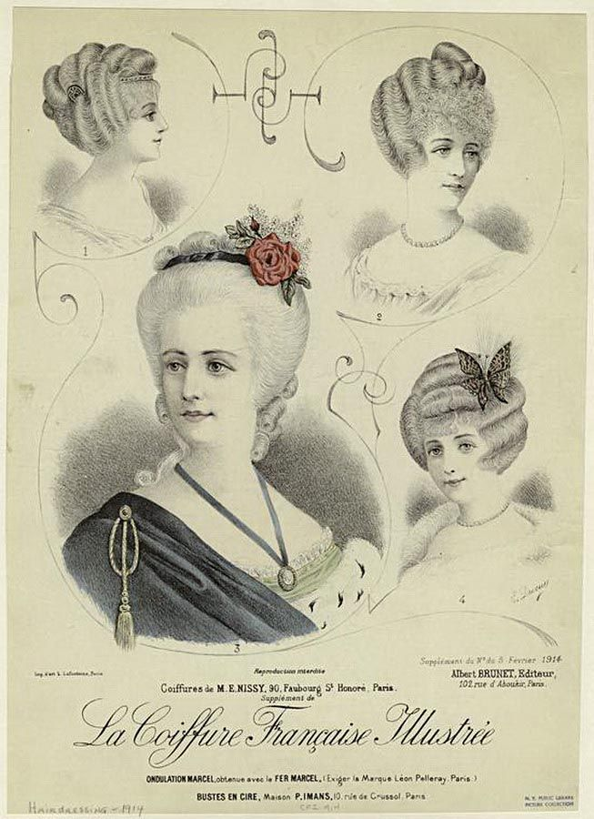 1910 Hairstyles New Coiffures Of The Summer Girl Glamour Daze