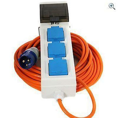 Electric Hook Up For Camping With Rcd Mcd Campsite Approved