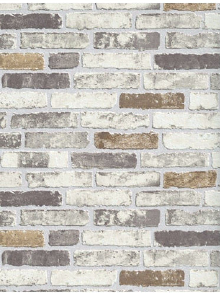 Beige brick wallpaper beige brick wallpaperbeige brick for Grey brick wallpaper bedroom