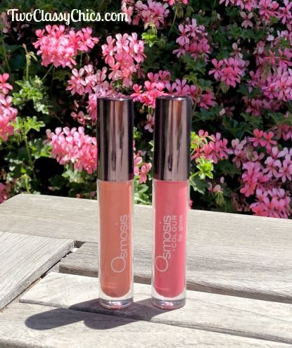 Summer Lip Gloss Shades from Osmosis Colour Mineral Cosmetics #mineralcosmetics