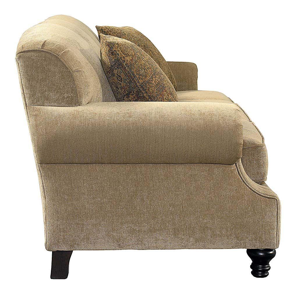 basset sofa | Bassett Furniture – Custom Classics Sofa side view ...