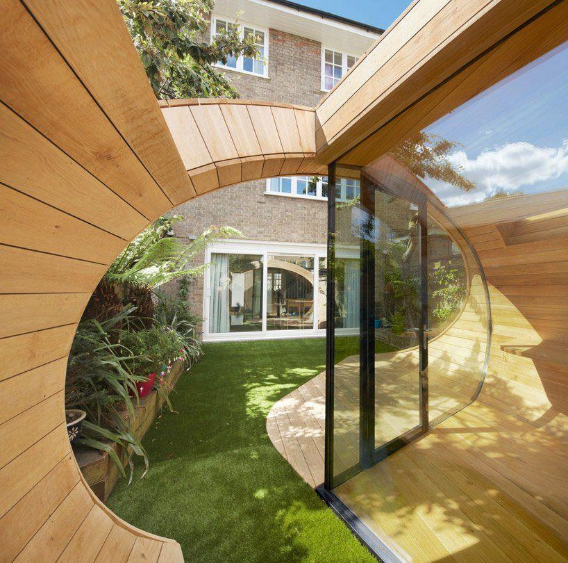 Shoffice Platform Architects Pavillon De Jardin Espaces De - Porte placard coulissante jumelé avec serrurier herblay