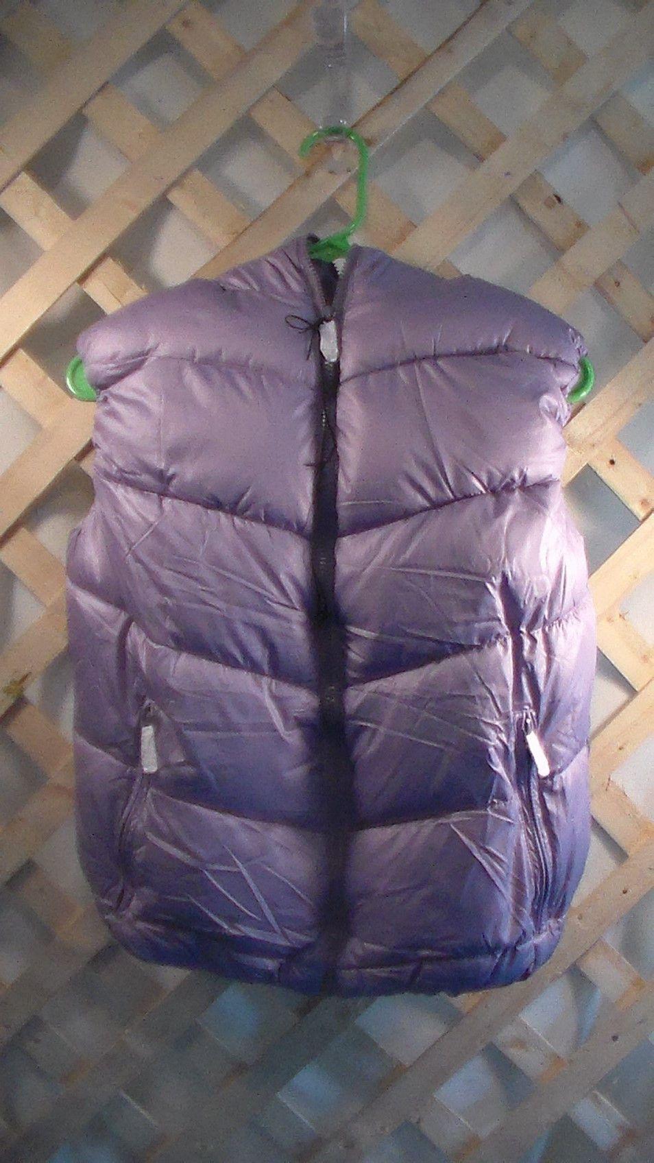Lavender Winter Vest for Junior Girls