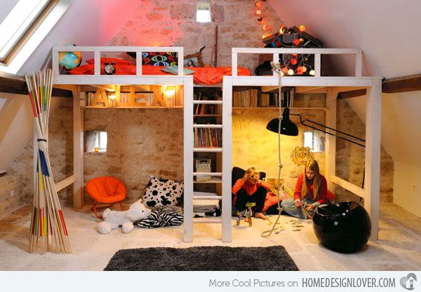 Kid S Bedroom Furniture Exciting Loft Bed Designs