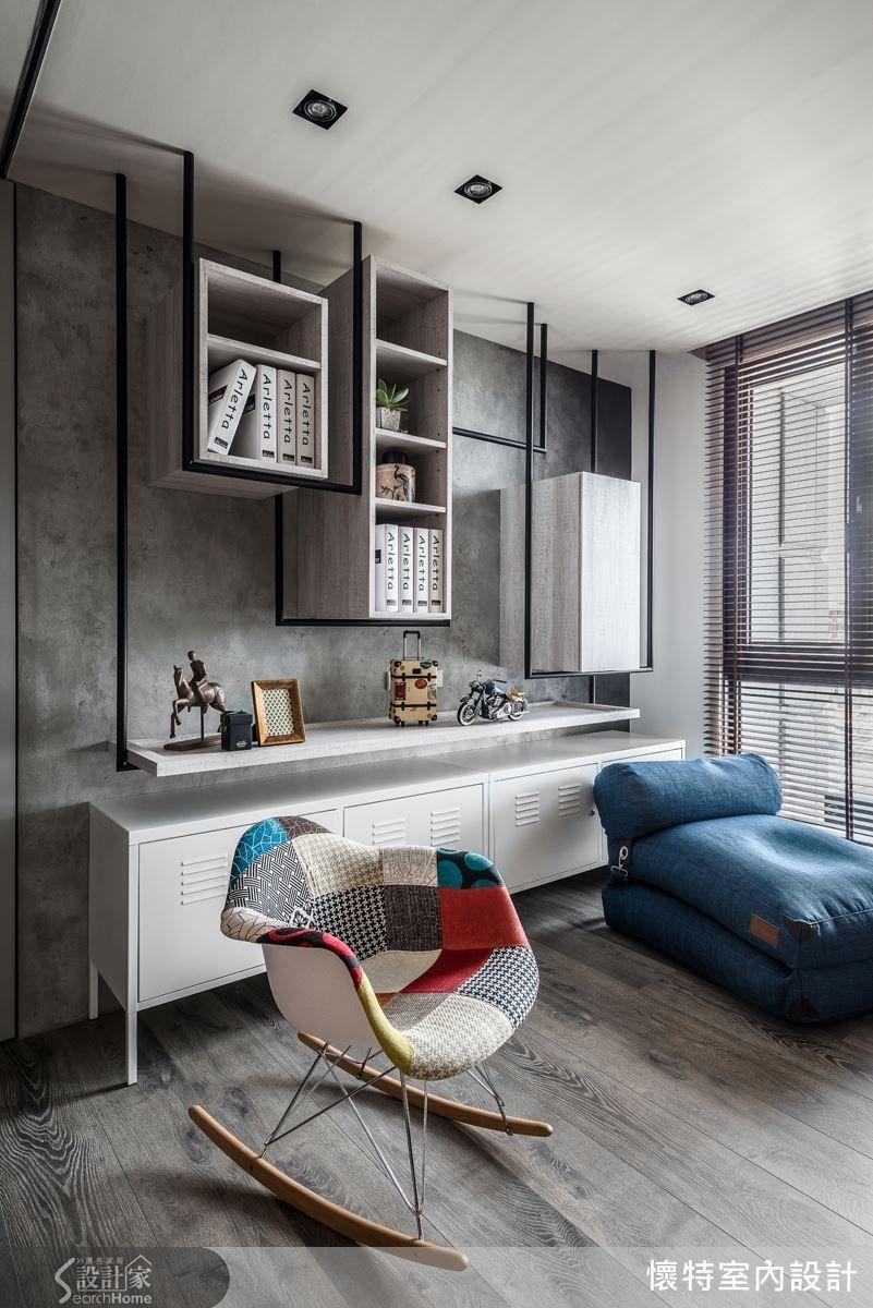 就是要耍酷 不按牌理出牌的個性化潮宅 Bedroom Design Living