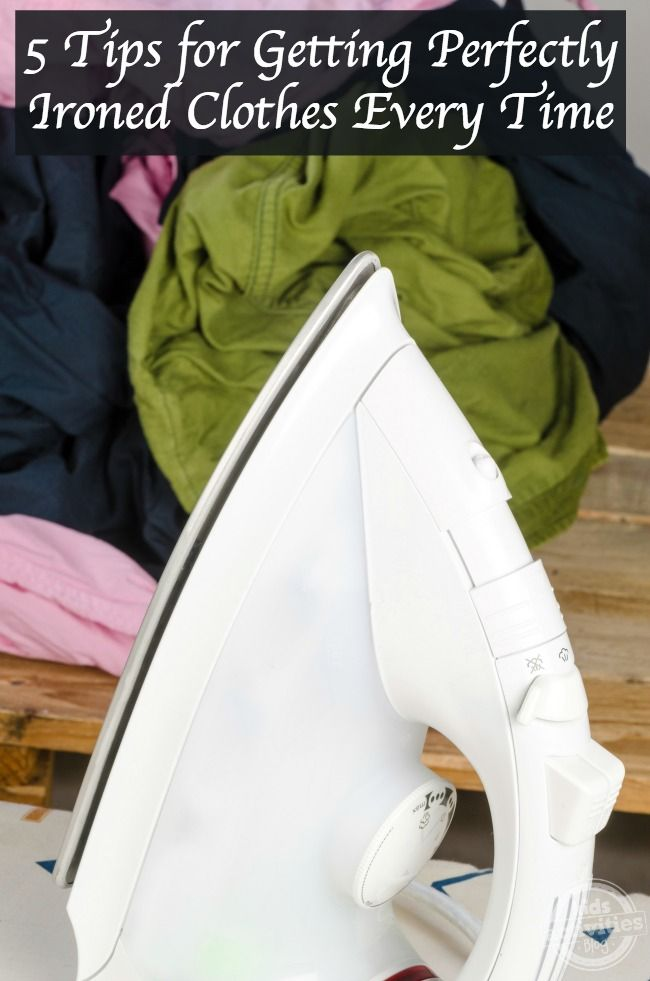 5 Tips for Getting Perfectly Ironed Clothes Every Time
