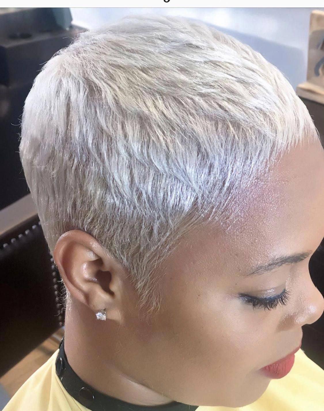 Pin On Short Grey Hair